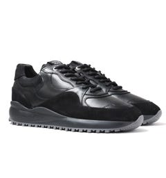 Android Homme Santa Monica Black Trainers