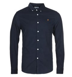 Farah Fontella Navy Slim Fit Shirt