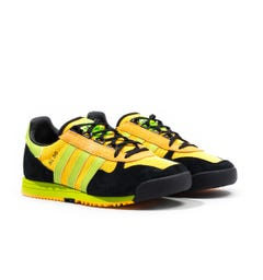 Adidas Originals SL 80 Solar Gold, Solar Slime & Black Trainers