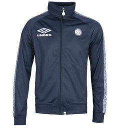 Pretty Green x Umbro Taped Navy Track Jacket