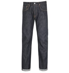Edwin Dark Blue Made In Japan Tapered Jeans