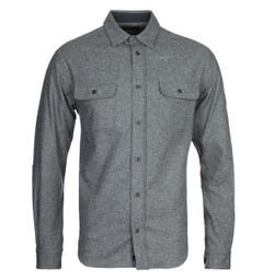 Paul & Shark Woven Grey Shirt