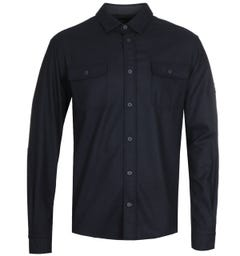 Paul & Shark Woven Navy Shirt