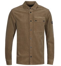 Paul & Shark Beige Corduroy Overshirt