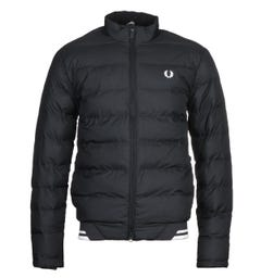 Fred Perry Insulated Black Jacket