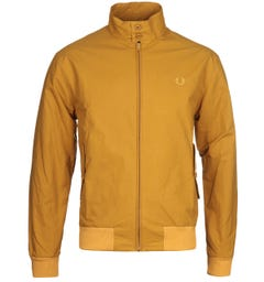 Fred Perry Made in England Gold Leaf Harrington Jacket