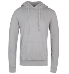 True Religion Heavy Horseshoe Grey Hoodie
