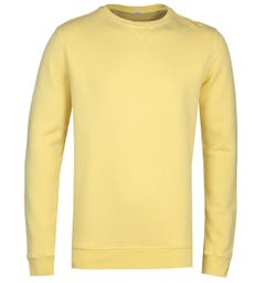 True Religion Yellow Crew Neck Sweatshirt