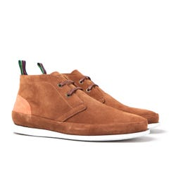 PS Paul Smith Cleon Tan Suede Shoes