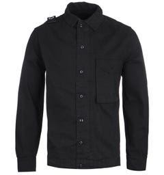 MA.Strum GD Black Overshirt