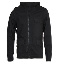 MA.Strum CG Black Hooded Jacket