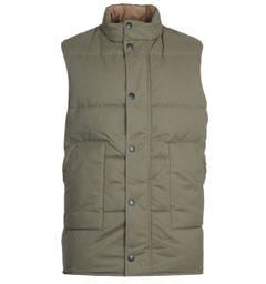 Barbour Oversized Baffle Green Gilet