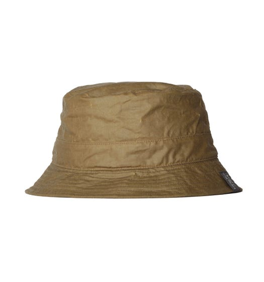 Barbour x Norse Projects Wax Green Bucket Hat