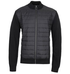 Barbour Carn Baffle Black Zip Jacket