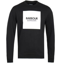Barbour International Black Block Sweatshirt