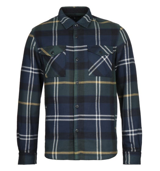 Barbour Cannich Seaweed Tartan Overshirt