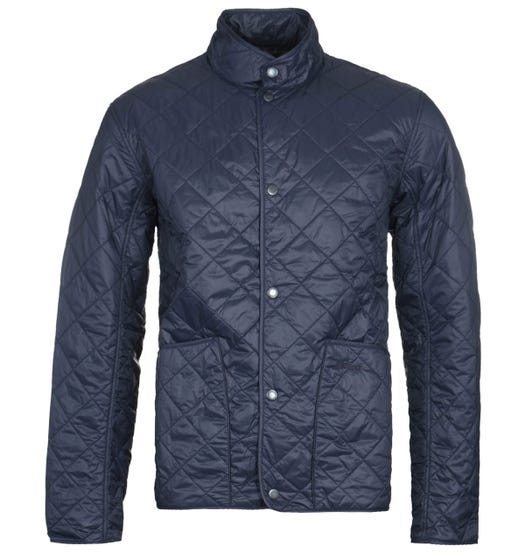 Barbour Browland Quilted Navy Jacket