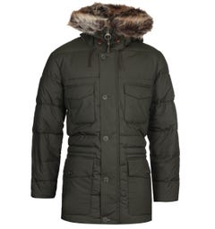 Barbour Morton Green Quilted Jacket