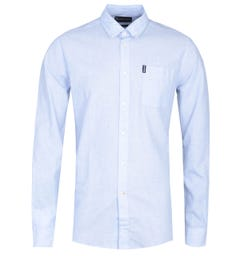 Barbour Seaton Long Sleeve Sky Blue Shirt