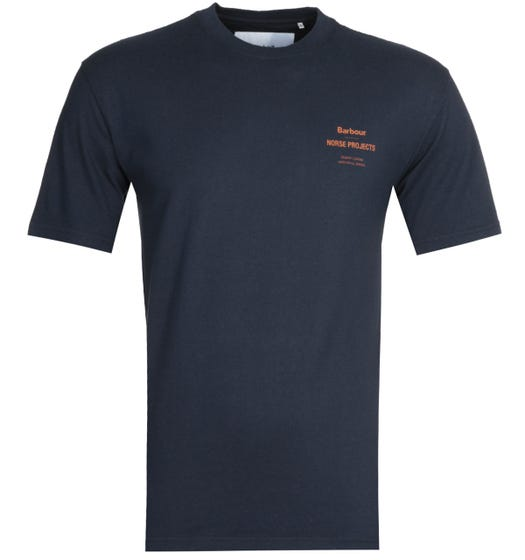 Barbour x Norse Projects Navy T-Shirt