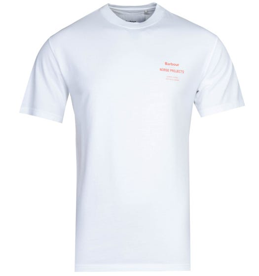 Barbour x Norse Projects White T-Shirt