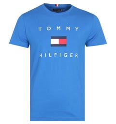 Tommy Hilfiger Flag Blue T-Shirt