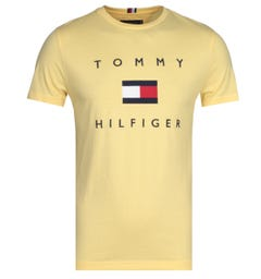 Tommy Hilfiger Flag Yellow T-Shirt