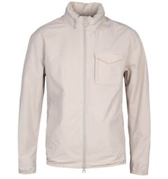 Barbour Emble Concealed Hood Stone Jacket