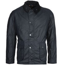 Barbour Strathyre Wax Jacket - Navy