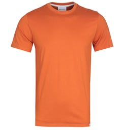 Norse Projects Niels Orange Standard T-Shirt