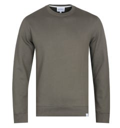 Norse Projects Vagn Ivy Green Crew Neck Sweatshirt