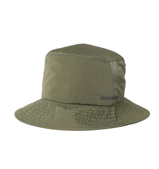 Norse Projects Nylon GMD Green Bucket Hat