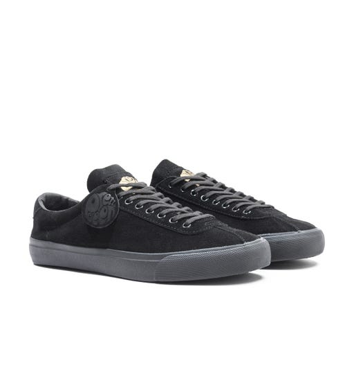 Pretty Green Black Suede Trainers