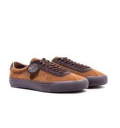 Pretty Green Brown Suede Trainers