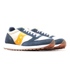 Saucony Jazz Vintage Denim Tapioca Curry Trainers