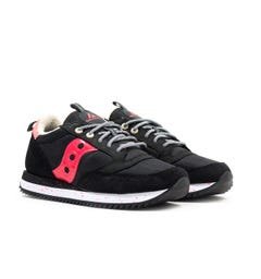 Saucony Jazz Original Vintage Black & Pink Trainers