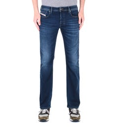 Diesel Zatiny Pantaloni Bootcut Regular Fit Dark Blue Rinse Denim Jeans