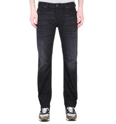 Diesel Larkee Pantaloni Straight Fit Black Denim Jeans