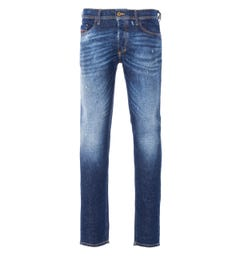 Diesel Tepphar Slim Fit Jeans - Faded Mid Blue