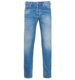 Diesel Tepphar Slim Fit Light Blue Denim Jeans
