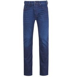 Diesel Waykee Pantaloni Medium Blue Regular Jeans