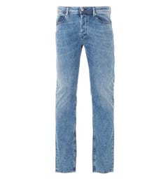Diesel Waykee Straight Fit Jeans - Vintage Light Blue