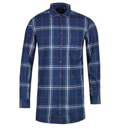 Diesel S-Diamen Blue Check Shirt
