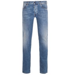 Diesel Sleenker Pantaloni Slim Fit Medium Blue Denim Jeans