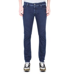 Diesel Sleenker Pantaloni Skinny Fit Dark Blue Denim Jeans