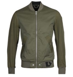 Diesel J-Gate Giacca Green Bomber Jacket