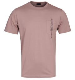 Diesel T-Just Pocket Dusty Brown T-Shirt