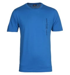 Diesel T-Just Pocket Maglietta Blue T-Shirt