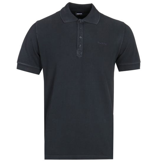 Diesel T-Night Broken Black Polo Shirt