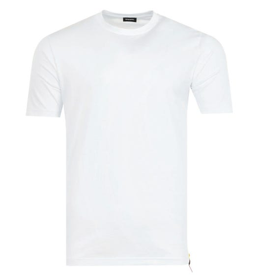 Diesel T-Just Back Graphic T-Shirt - White